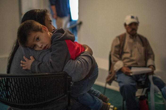 Since President Trump's immigration policies were unveiled, anxiety has spread like wildfire among immigrant community members in California (AFP Photo/DAVID MCNEW)
