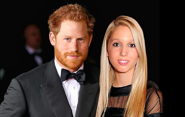 Prince Harry and Princess Maria-Olympia. Photo: Supplied.