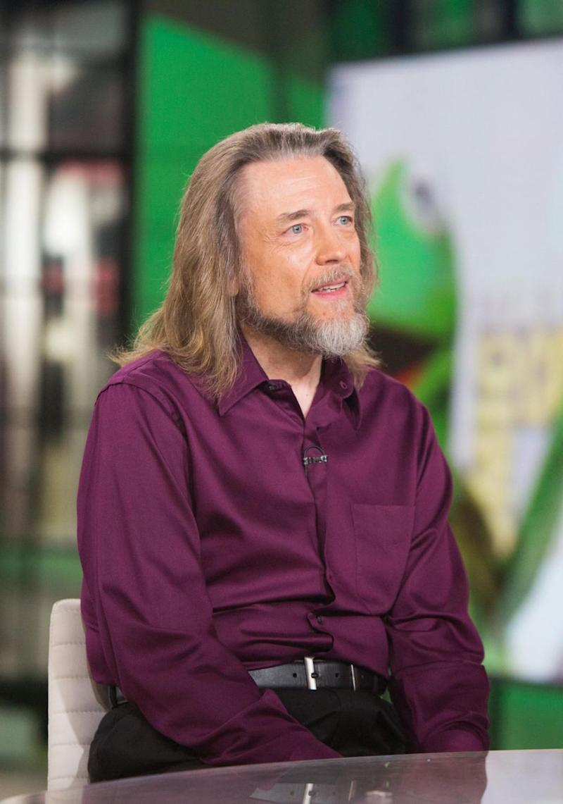 Steve Whitmire played the voice of Kermit the Frog for 39 years. He has now been replaced by Matt Vogel after being sacked from the role. Source: Getty