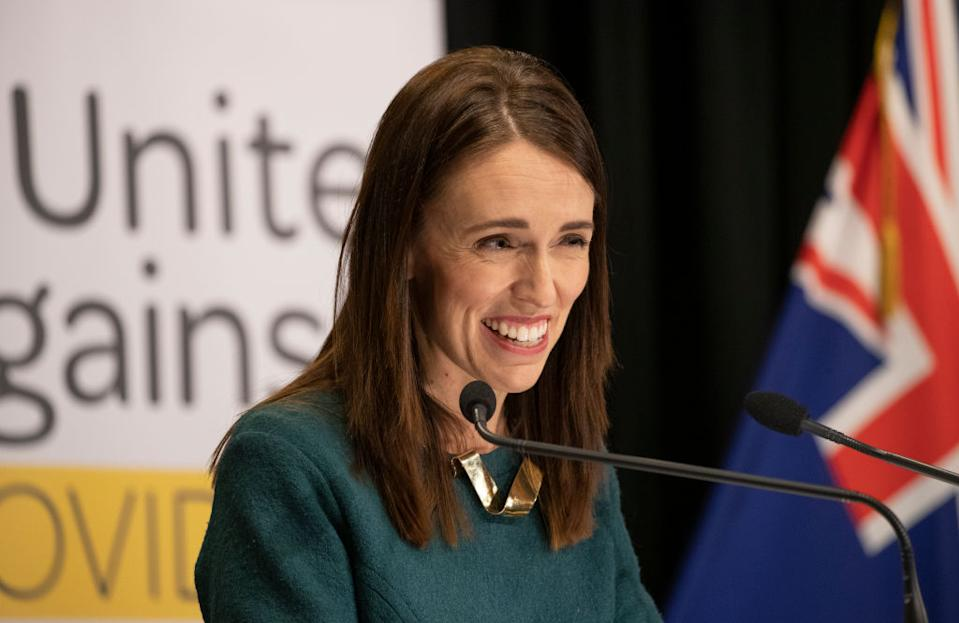 """New Zealand PM Jacinda Ardern has declared the Easter Bunny and the Tooth Fairy are """"essential workers."""" (Getty Images)"""