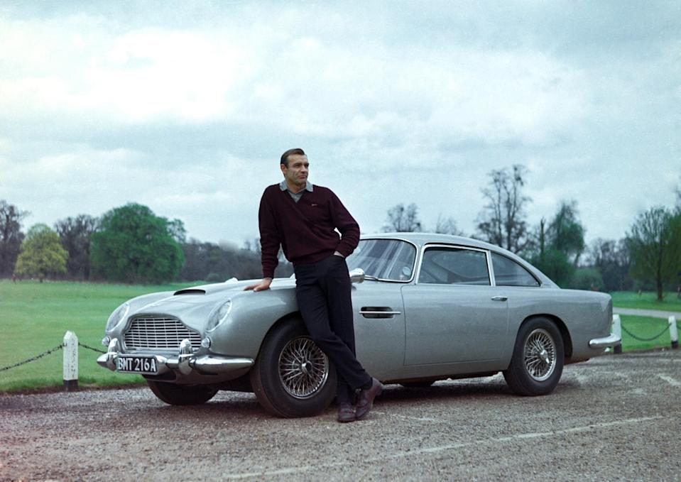How to Buy James Bond's Iconic Aston Martin DB5 from 'Goldfinger'