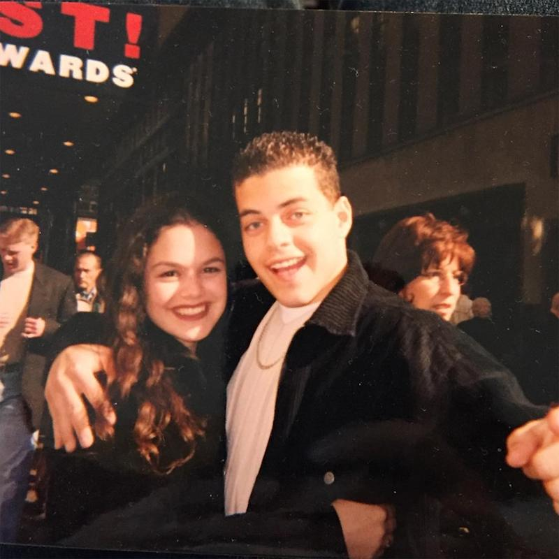 Rachel Bilson Shares Ultimate Throwback Photo with Rami Malek: 'Don't Forget the Little People'