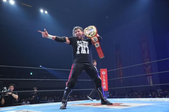 Many wrestling fans consider Kenny Omega the best professional wrestler on the planet. (TV Asahi/NJPW)