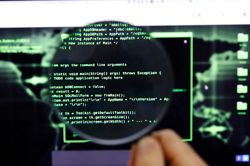 A coalition of Israeli diplomats, programmers and hackers have joined forces to stave off threats by identifying bot networks on social media and getting them removed (AFP Photo/JACK GUEZ)