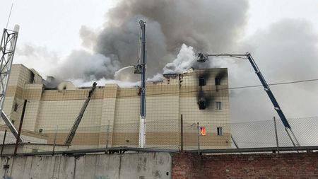 Rescuer shares terrifying details of the operation at burning shopping mall