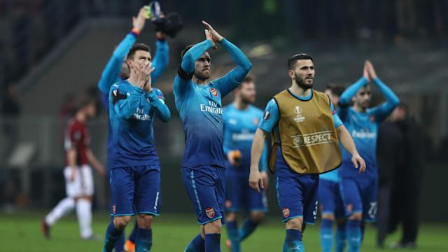 Arsenal ended a four-game losing run with a spirited victory over AC Milan, much to manager Arsene Wenger's delight.