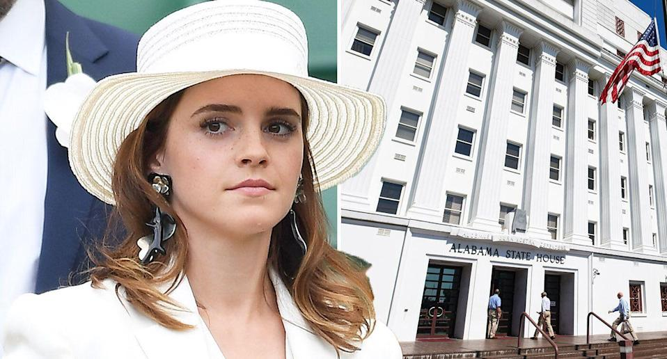 Emma Watson has spoken out on the issue of abortion. [Photo: Getty]
