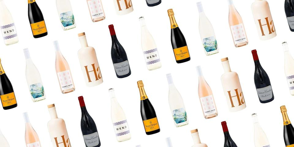 """<p><a href=""""https://www.townandcountrymag.com/leisure/drinks/a31902031/virtual-happy-hour-cocktail-party-ideas/"""" rel=""""nofollow noopener"""" target=""""_blank"""" data-ylk=""""slk:Hosting a party"""" class=""""link rapid-noclick-resp"""">Hosting a party</a> and run out of drinks? Don't feel like carrying heavy bottles on the subway (or in general)? Thanks to the wonders of modern technology, you can now have an entire liquor store accessible at your finger tips. So, make like Olivia Pope and sit on your couch with a glass (or bottle) of wine. Below you'll find a list of <em>T&C</em>'s favorite alcohol delivery services. <br></p>"""