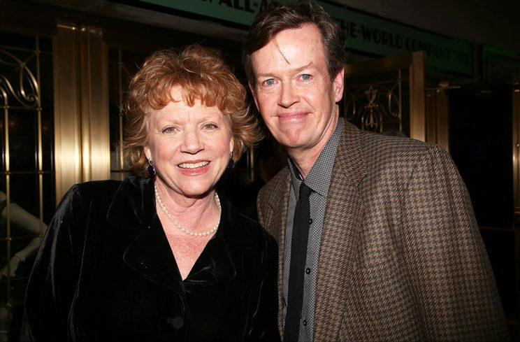 Becky Ann Baker and Dylan Baker in New York City. (Photo by Walter McBride/WireImage)