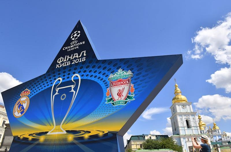 The 2018 Uefa Champions League Final will take place on Saturday at the NSC Olimpiyskiy Stadium in Kiev. — Picture by AFP