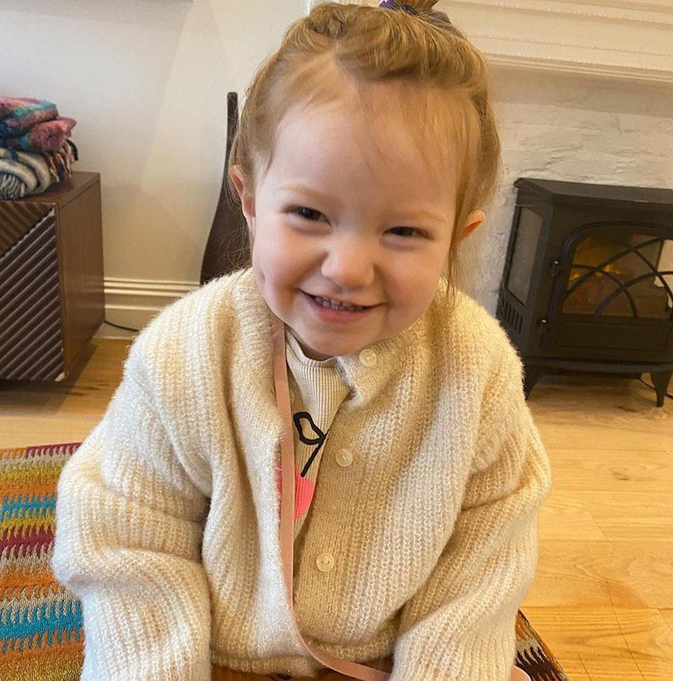 "<p>Janet Montgomery's daughter <a href=""https://people.com/parents/this-is-us-janet-montgomery-welcomes-daughter-sunday-juno/"" rel=""nofollow noopener"" target=""_blank"" data-ylk=""slk:Sunday Juno"" class=""link rapid-noclick-resp"">Sunday Juno</a> turned 2 on March 1.</p>"