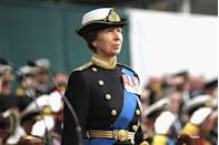 <p>Since 1974, H.R.H. has held the appointment of Chief Commandant of the Women's Naval Service, which was renamed Chief Commandant of Women in the Royal Navy nearly 20 years later, following the unification of the Women's Royal Naval Service into The Royal Navy. Since 2012, Princess Anne has also held the rank of Admiral. Five ships of The Royal Navy have been named after the Princess Royal since. </p><p> Princess Anne is also Colonel of multiple Canadian regiments, Colonel in Chief of The Royal New Zealand Corps of Signals and The Royal New Zealand Army Nursing Corps., and The Princess Royal is Colonel-in-Chief of The Royal Australian Corps of Signals and The Royal Australian Corps of Transport. </p>