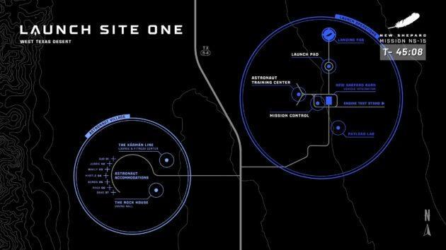 Launch Site One map