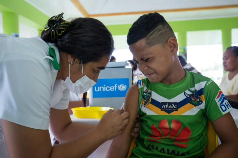 Yett said health authorities' focus at the moment was containing an epidemic that was still raging (AFP Photo/ALLAN STEPHEN)