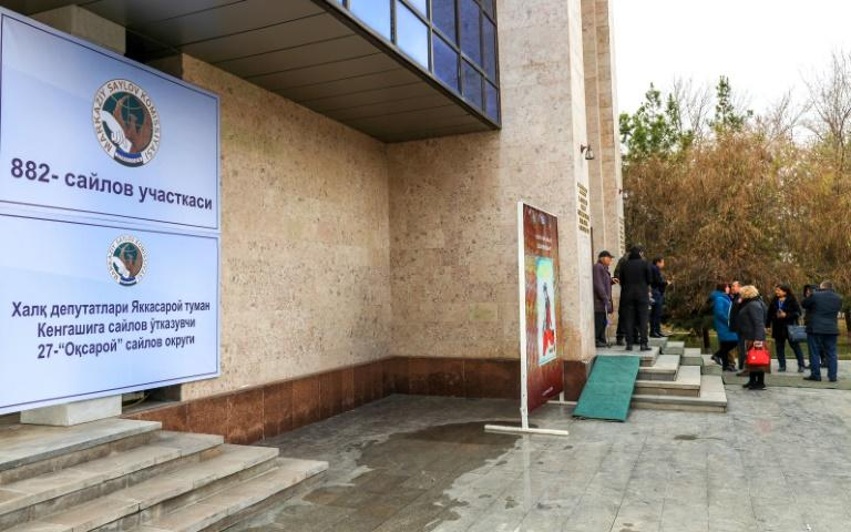 """The OSCE has complained about a """"lack of real contest"""" in Uzbekistan's election (AFP Photo/Yuri KORSUNTSEV)"""