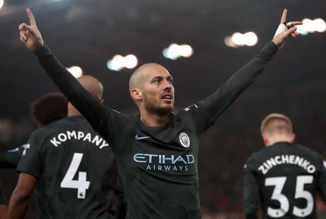 Silva was one of City's most influential players for a decade