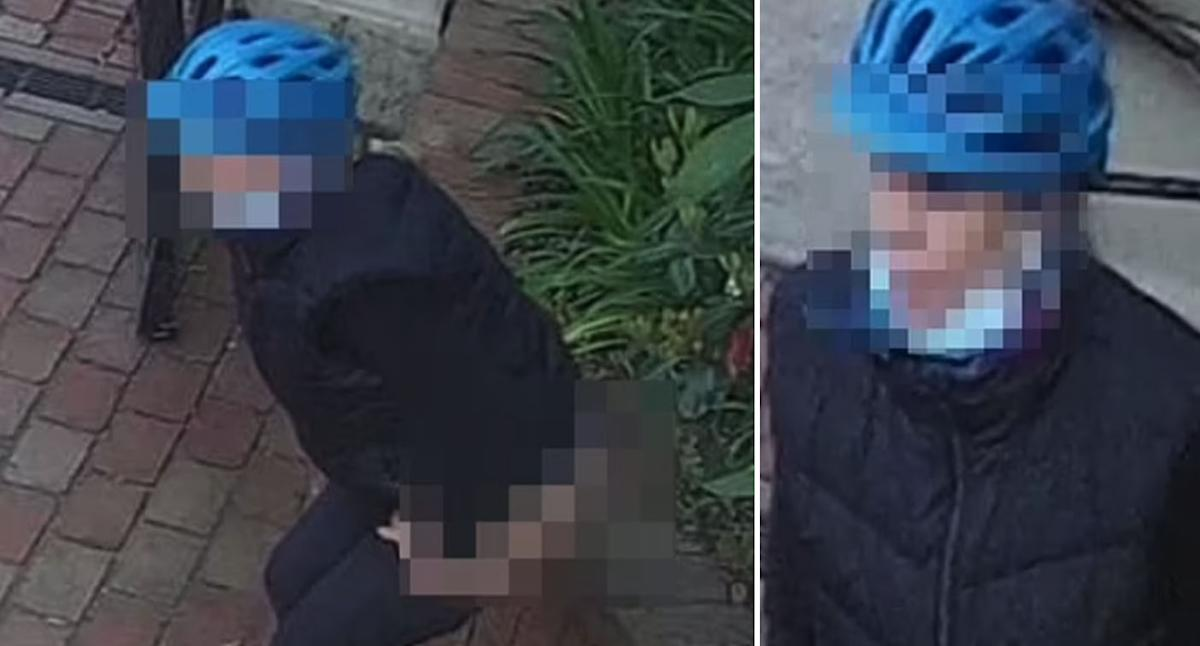 Hunt for poo cyclist in affluent Melbourne suburb