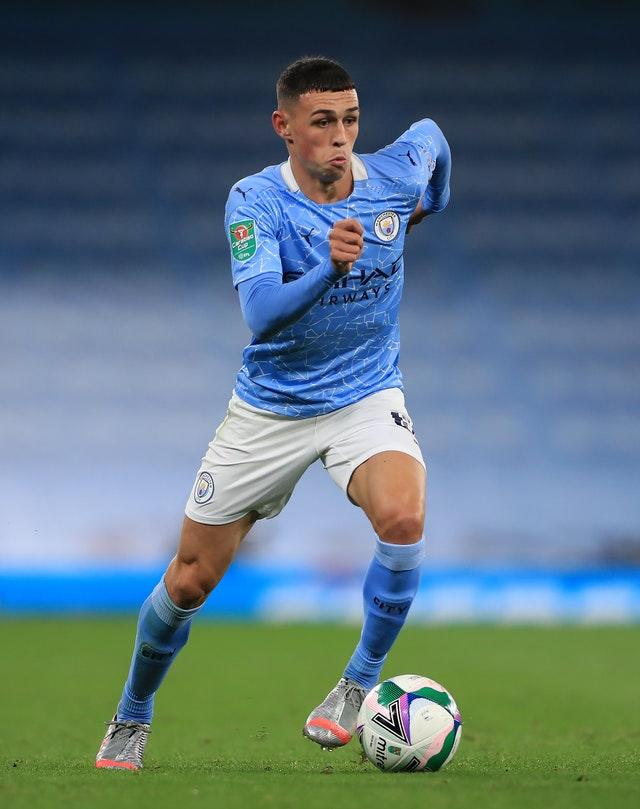 Foden scored twice in City's first three games of the season