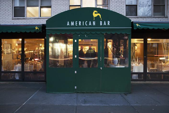 The initial concept for American Bar was drawn from London's private members' clubs in the 1980s.