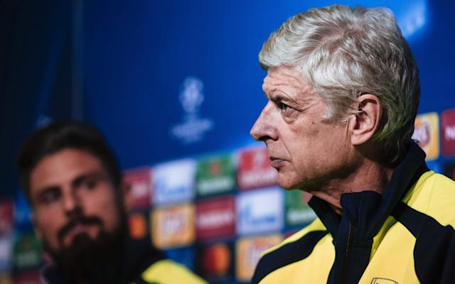 Giroud has offered his support to Wenger - AFP or licensors