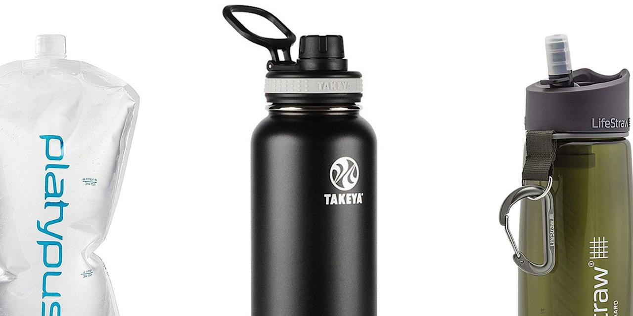 <p>By now, you have most likely been socially shamed out of using plastic, single-use water bottles. That's good! Let's save the planet! So turn to these 10 reusable water bottles, the best on the market-from stainless steel to BPA-free plastic options-to keep your hydration in check. Many of these companies have made commitments to protecting clean water and promoting water security around the world, which is cool, too. And use them often; if you think you're drinking enough water every day, you're wrong.</p>