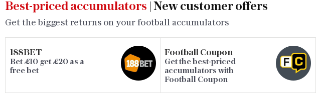 Best-priced accumulators | New customer offers
