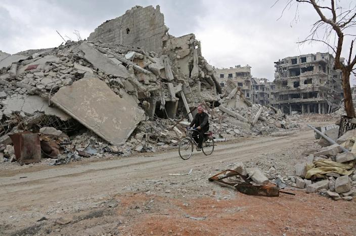 The expected loss of Eastern Ghouta will deal the rebels the biggest blow yet in their uprising (AFP Photo/STRINGER)
