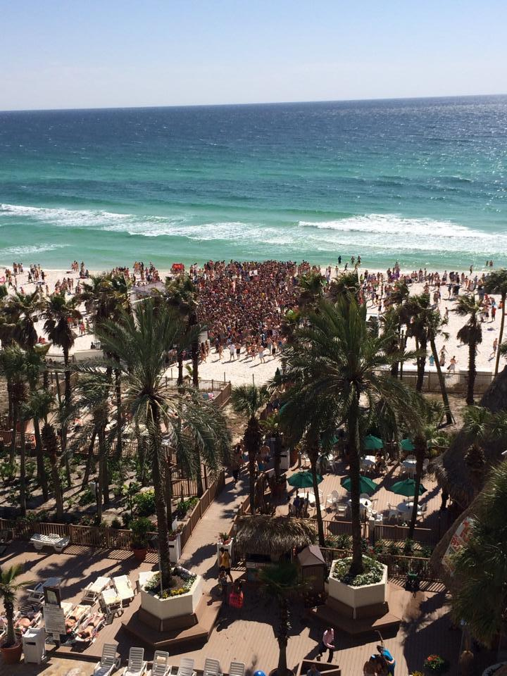 Beach towns in Florida are popular destinations for university students on Spring Break: Matthew Wood