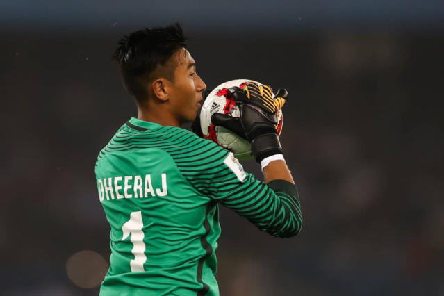 One of the heroes of India's campaign at the FIFA U-17 World Cup was goal keeper Dheeraj Singh Moirangthem who has now moved base to Scotland and begun his trial stint with the Scottish Premiership club Motherwell FC.