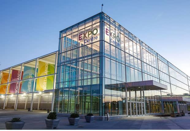 The Expo Centre in northeast Edmonton is currently being used as a COVID-19 mass vaccination centre. (edmontonexpocentre.com - image credit)