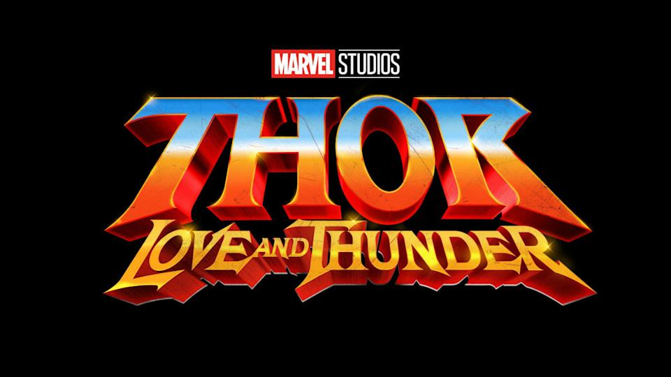 The Thor: Love and Thunder logo