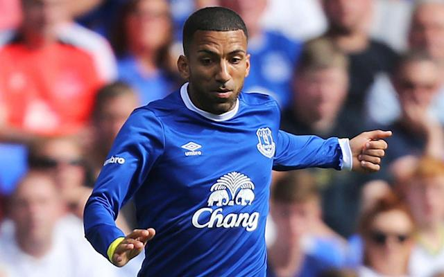 Everton winger Aaron Lennon was detained in Salford on Sunday - PA