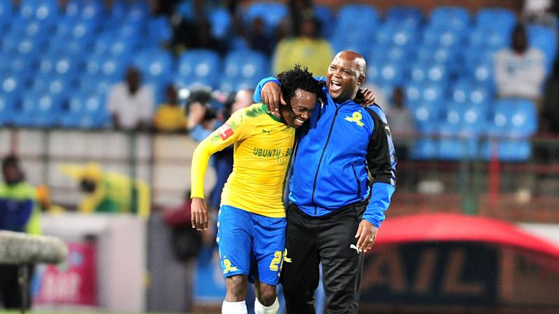 Mosimane delighted to see Percy Tau move to the English Premier League