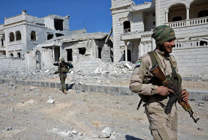 Rebels Claim Capture of Syrian City From ISIS
