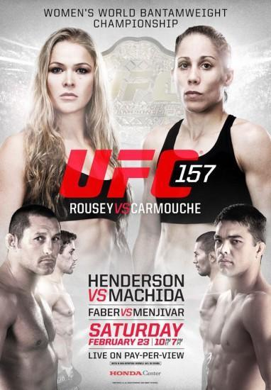 UFC 157: Rousey vs. Carmouche Stays the Course for FX Prelim TV Ratings