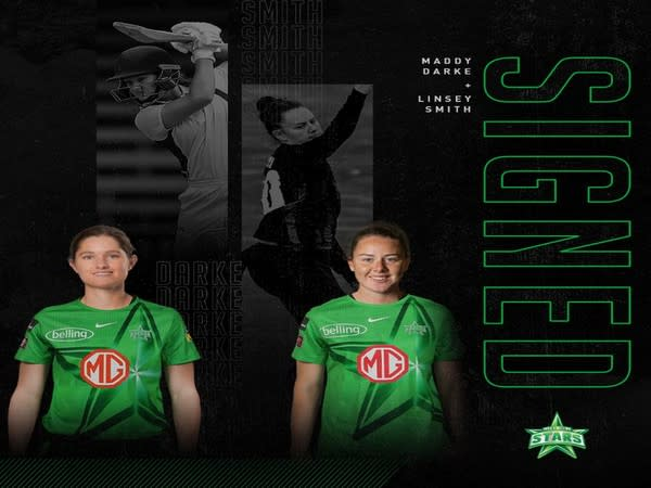Melbourne Stars sign Linsey Smith, Maddy Darke (Photo/ Melbourne Stars Twitter)