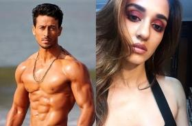 Tiger Shroff leaves a fiery comment on Disha Patani's glamorous picture