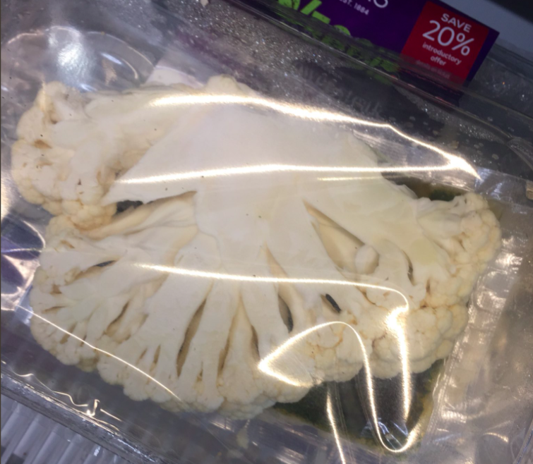 There's outrage over M&S charging £2 for a slice of cauliflower