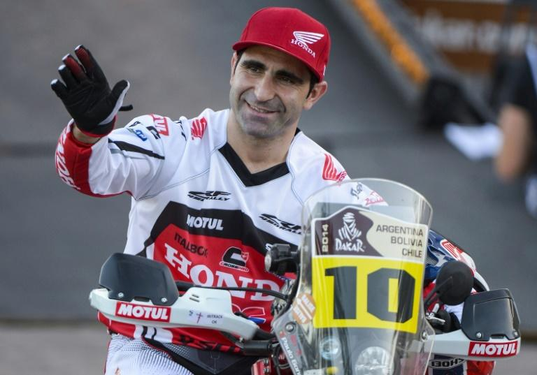 Portuguese rider Paulo Goncalves killed after Dakar crash