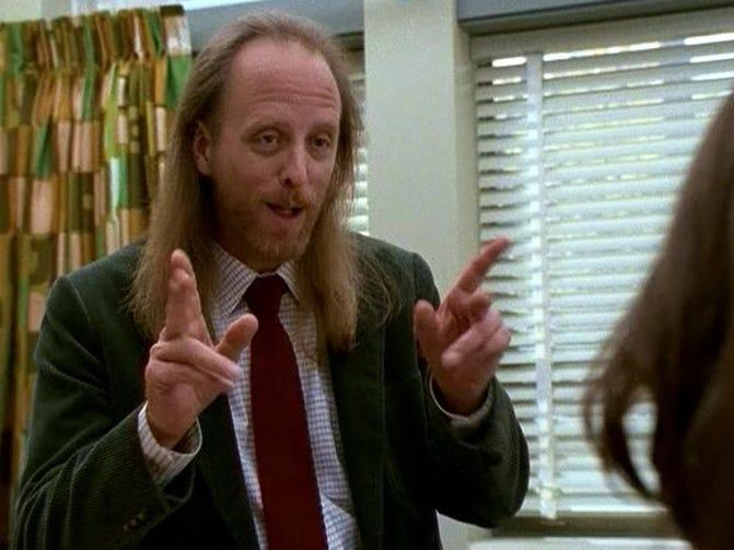 Mr Rosso freaks and geeks