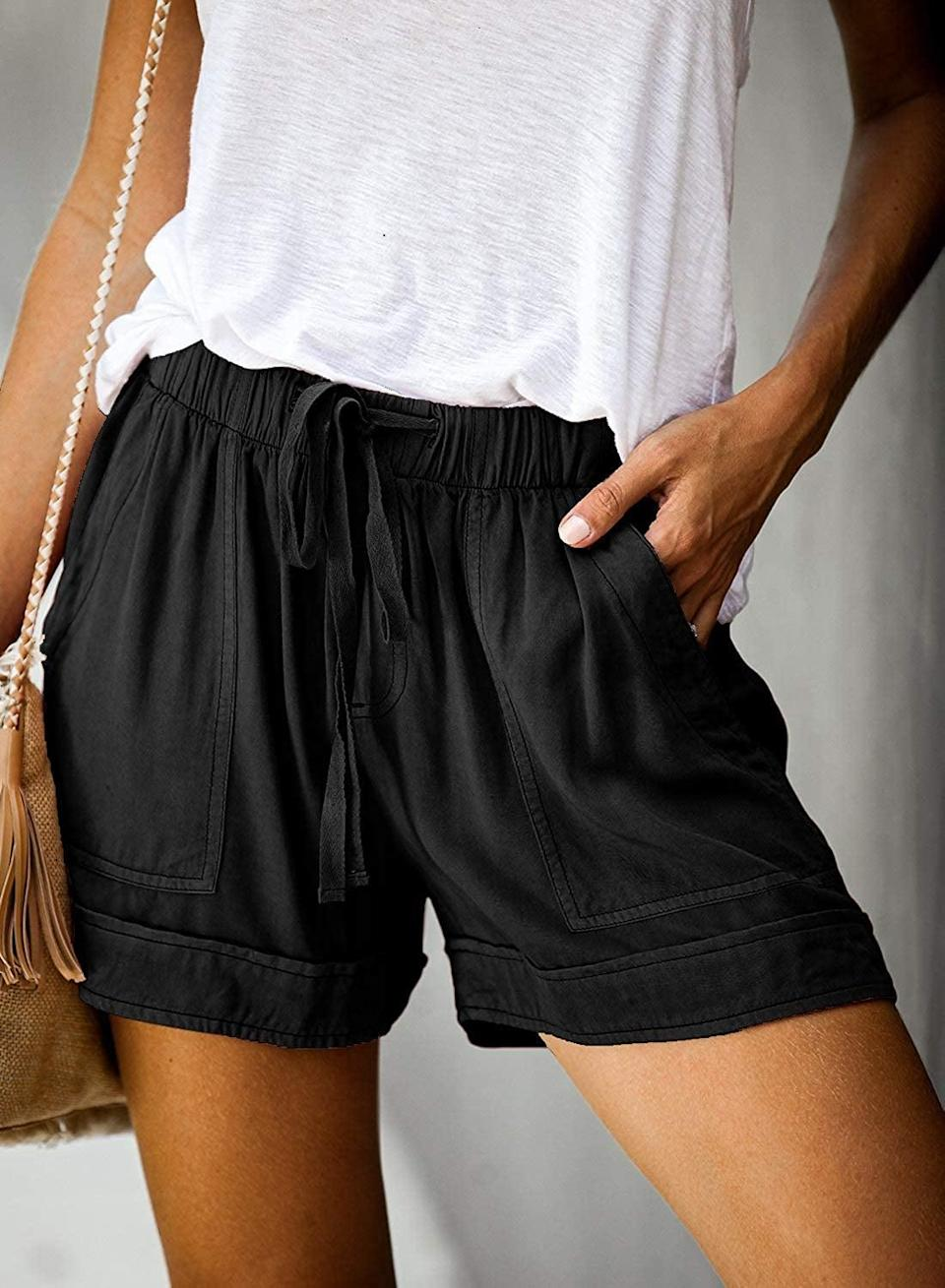 <p>These <span>Dokotoo Comfy Drawstring Pocketed Shorts</span> ($20) are as comfy as sweats, but look more stylish.</p>