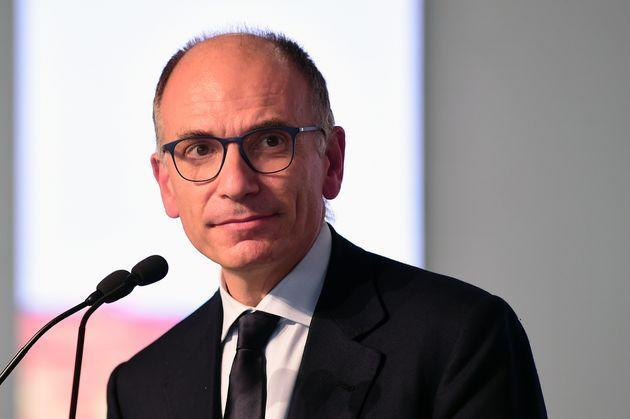 BOLOGNA, ITALY - SEPTEMBER 12: Italian Government ex - Prime Minister Enrico Letta, now National secretary of PD political party, attends the closure of PD's national convention at PD Party National Convention on September 12, 2021 in Bologna, Italy. (Photo by Roberto Serra - Iguana Press/Getty Images) (Photo: Roberto Serra - Iguana Press via Getty Images)