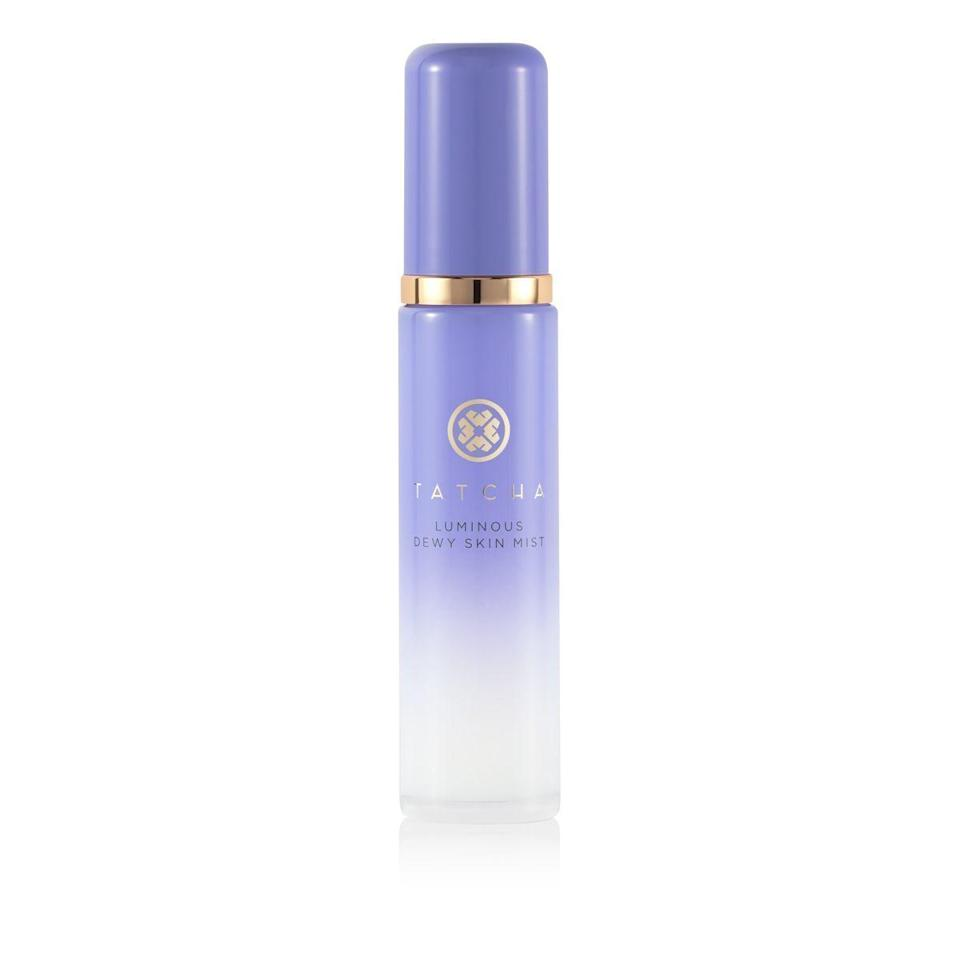 """<p><strong>Tatcha</strong></p><p>tatcha.com</p><p><strong>$38.40</strong></p><p><a href=""""https://go.redirectingat.com?id=74968X1596630&url=https%3A%2F%2Fwww.tatcha.com%2Fproduct%2Fluminous-dewy-skin-mist%2FSKIN-MIST-V2.html&sref=https%3A%2F%2Fwww.harpersbazaar.com%2Fbeauty%2Fskin-care%2Fg37611110%2Ftatcha-friends-family-sale%2F"""" rel=""""nofollow noopener"""" target=""""_blank"""" data-ylk=""""slk:Shop Now"""" class=""""link rapid-noclick-resp"""">Shop Now</a></p><p>Kim Kardashian and her makeup artist, Mario Dedivanovic, are both fans of this mist. Whether you're looking for a midday pick-me-up or just a little extra glow, consider this your new go-to.</p>"""