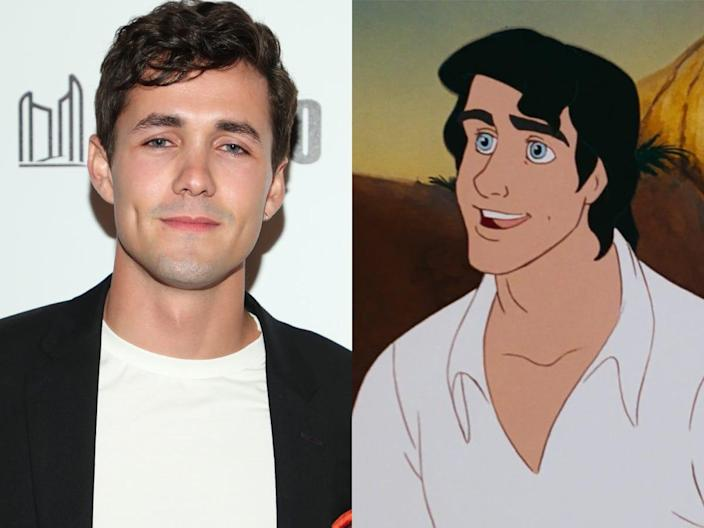 the little mermaid jonah hauer king as prince eric