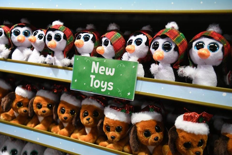 Toys on display at Hamleys (PA) (PA Archive)