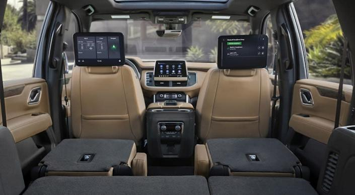 Chevy's 2021 Tahoe and Suburban add OTA updates and big ...