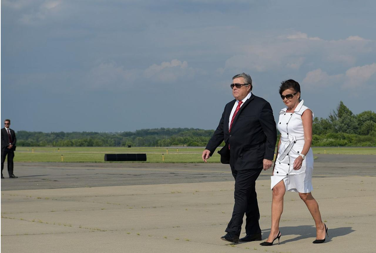 <p>The Knavses took an oath of citizenship in August 2018 after appearing at the federal immigration offices in New York City. Prior to that time, Melania's parents had been permanent U.S. residents living in the country on green cards.</p>