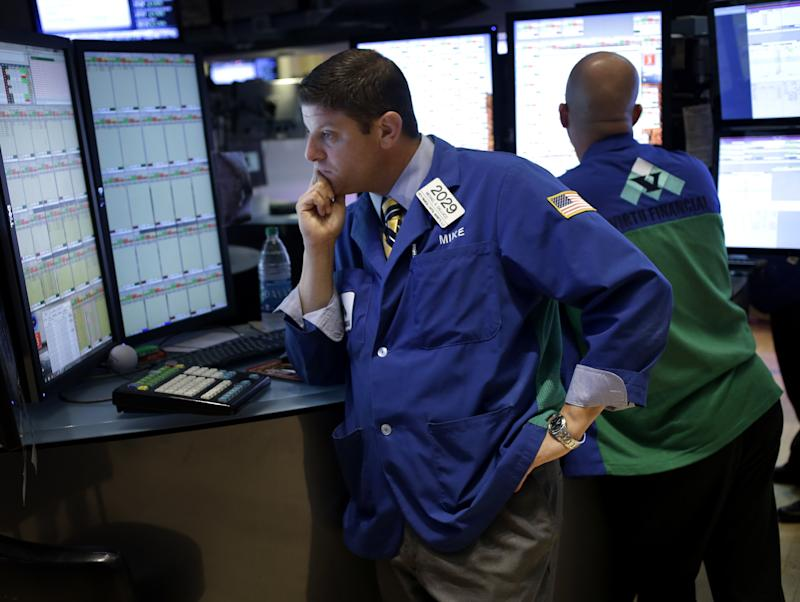 Stocks flat as traders weigh weak jobs data, Syria