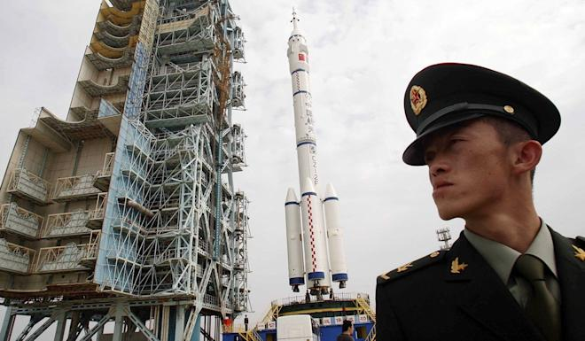 Fuel cell development began early in the Chinese space programme, the era of the first Long March carrier rockets. Photo: AP