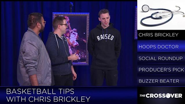 While NBA Influencer Chris Brickley usually trains stars such as Carmelo Anthony, Russell Westbrook and Kevin Durant, he joined SI's Matt Dollinger and Rohan Nadkarni in studio to deliver some tips on how to improve their game.